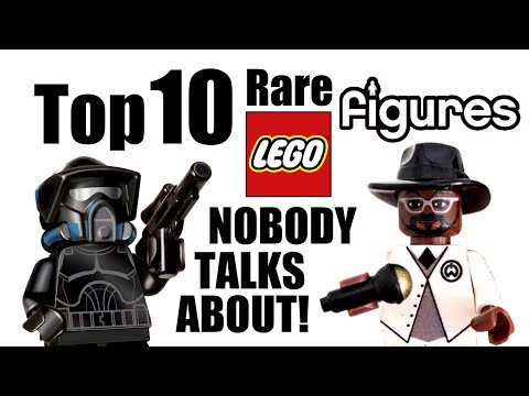 Top 10 Rare LEGO Minifigures NOBODY Talks About!