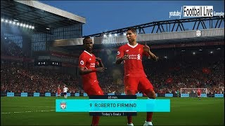 PES 2018 | Liverpool vs Tottenham | Derby Full Match | Gameplay PC