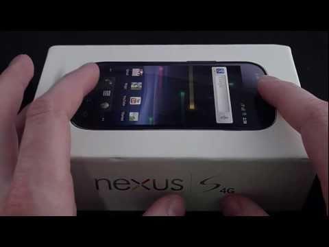Sprint Nexus S 4G Unboxing | Pocketnow