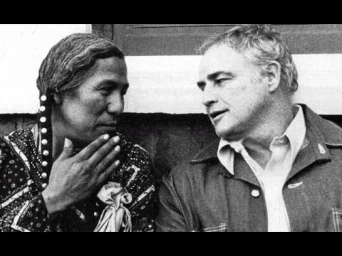 "Marlon Brando Actor Activist with host John Kauffman on ""Survival"" (1975)"