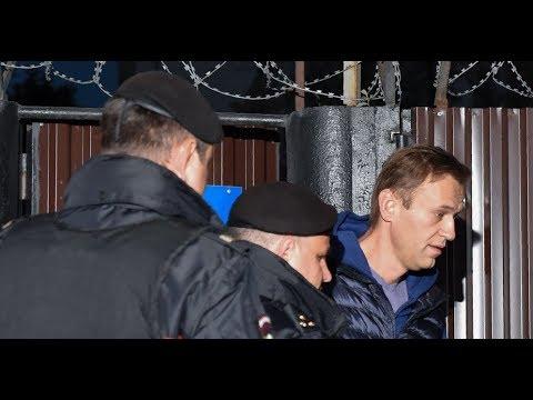 Новое задержание Навального