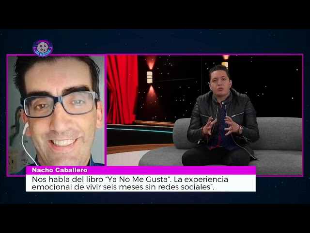 CÓMO DEJAR LAS REDES SOCIALES. Fernanda de Noche y Nacho Caballero, autor de YA NO ME GUSTA.