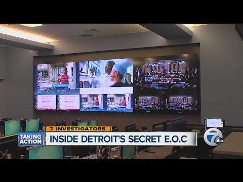 Inside Detroit's emergency operations center