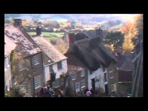 Gold Hill Shaftesbury Dorset England U.K