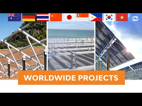 Clenergy Worldwide Installations