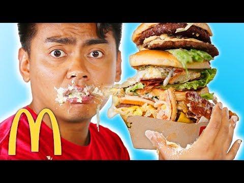 I Ordered Everything On My Custom McDonalds Burger