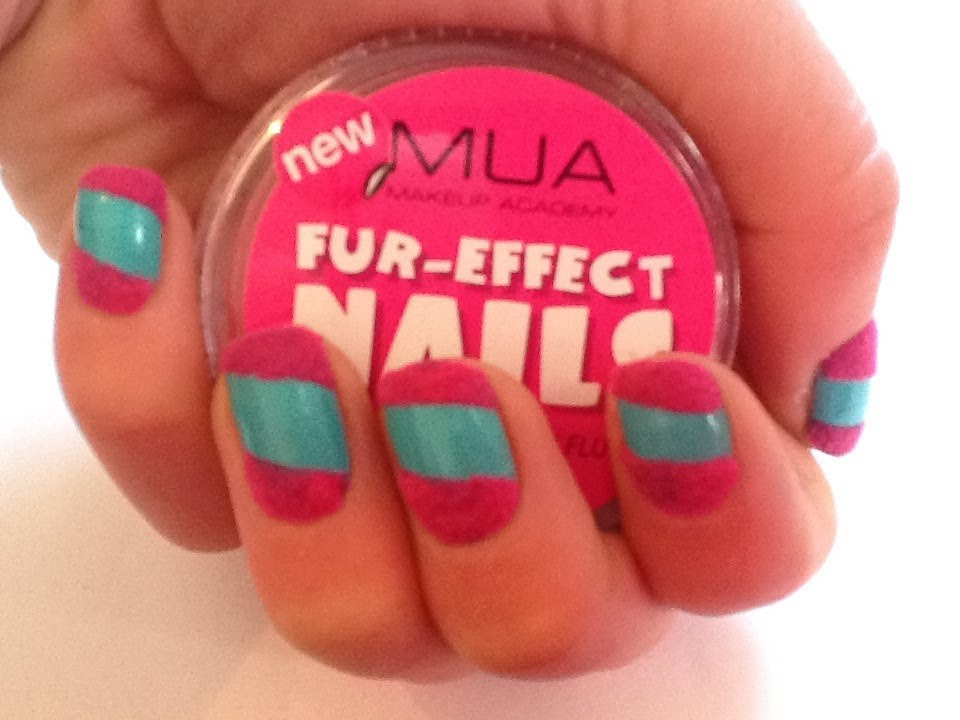 Flocking Powder Nail Art Mua Fur Effect Youtube