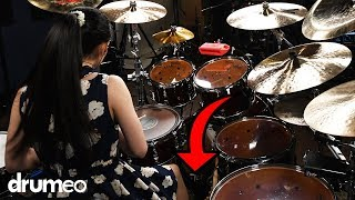 How To Play With More Power On The Drums (FEET EDITION)