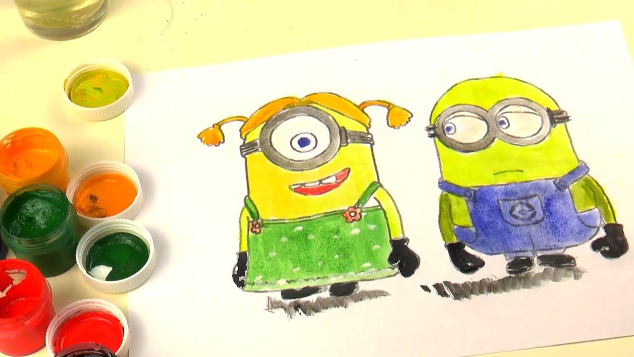 Despicable Me Minions Coloring Drawing Gru, Mi Villano