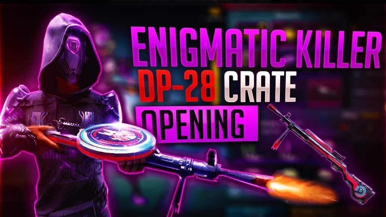 Can I get Enigmatic Killer Dp-28 ? ||4500UC Crate Opening||DNA_Ajit||