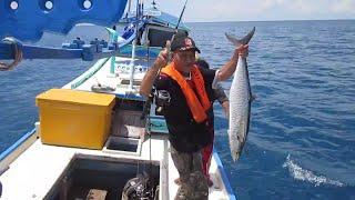 Strike Ikan Tenggiri Besar Di Laut Lepas Bangka Belitung #MANCING MANIA