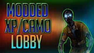 BO2 FREE MODDED XP AND CAMO LOBBIES!! Live Stream Ep10