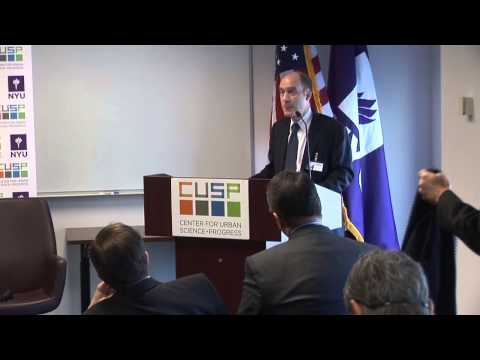 Transatlantic Science Forum Conference at NYU CUSP - Part 1