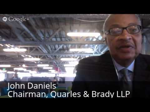 Scale Up Milwaukee #hangout  with John Daniels of Quarles & Brady LLP