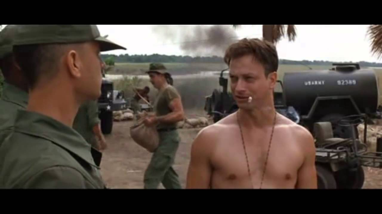 Forrest Gump Fortunate Son Vietnam Intro Hd Youtube