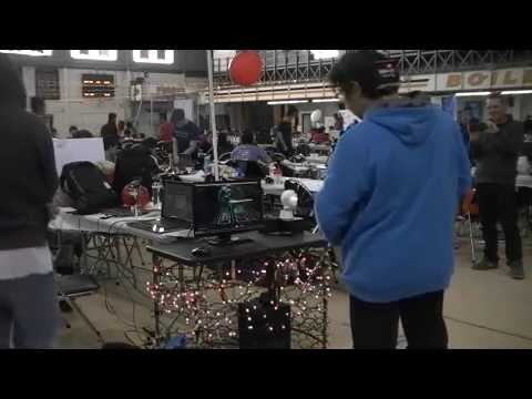 Halloween Party Station - BoilerMake 2015