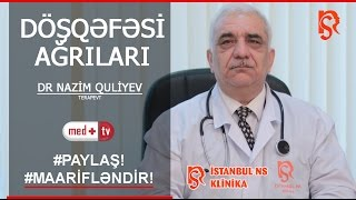 Dosqefesi agrilari (sine agrilari)-Terapevt Nazim QULIYEV IstanbulNS klinika Medplus TV
