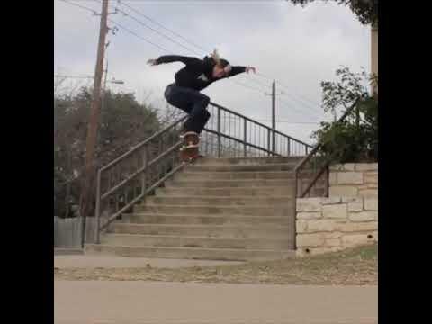 Tristan Moss Skateboarding