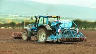 Drilling the Seed with Valtra and Lemken