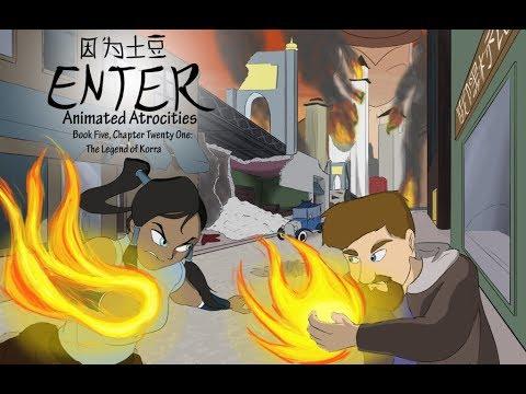 Animated Atrocities #141: The Legend of Korra Book 1