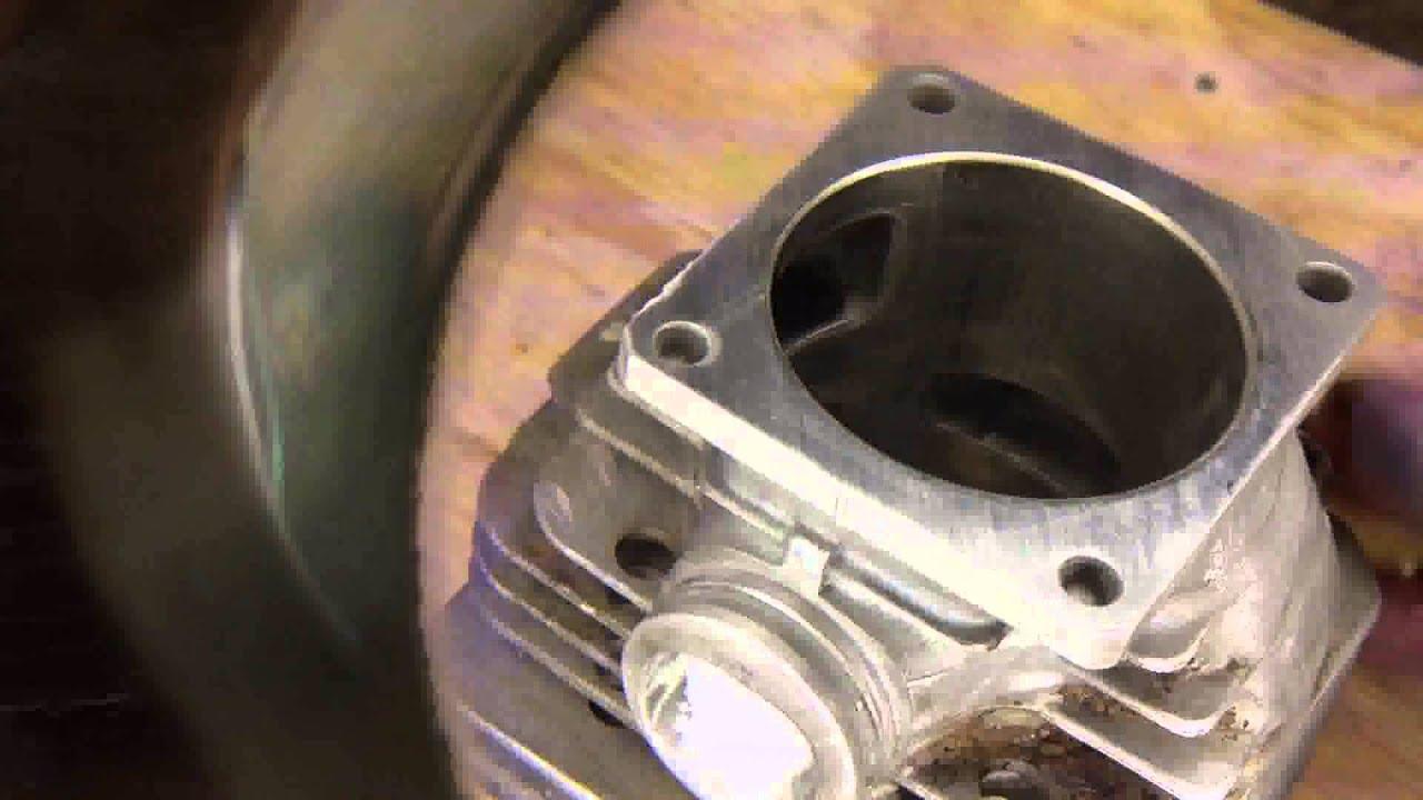 stihl 044 how to rebuild install new piston