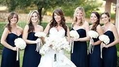 Amazing Navy Blue Bridesmaid Dress Ideas