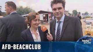 Lutz van der Horst bei der AfD-Wahlparty in Mecklenburg-Vorpommern