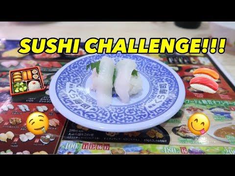SUSHI CHALLENGE!!!