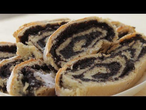 Štrudla sa makom recept / Poppyseed Roll recipe