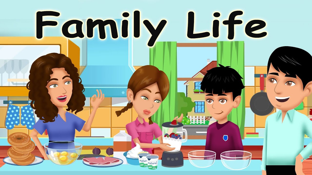 Download Family Life- English Conversations