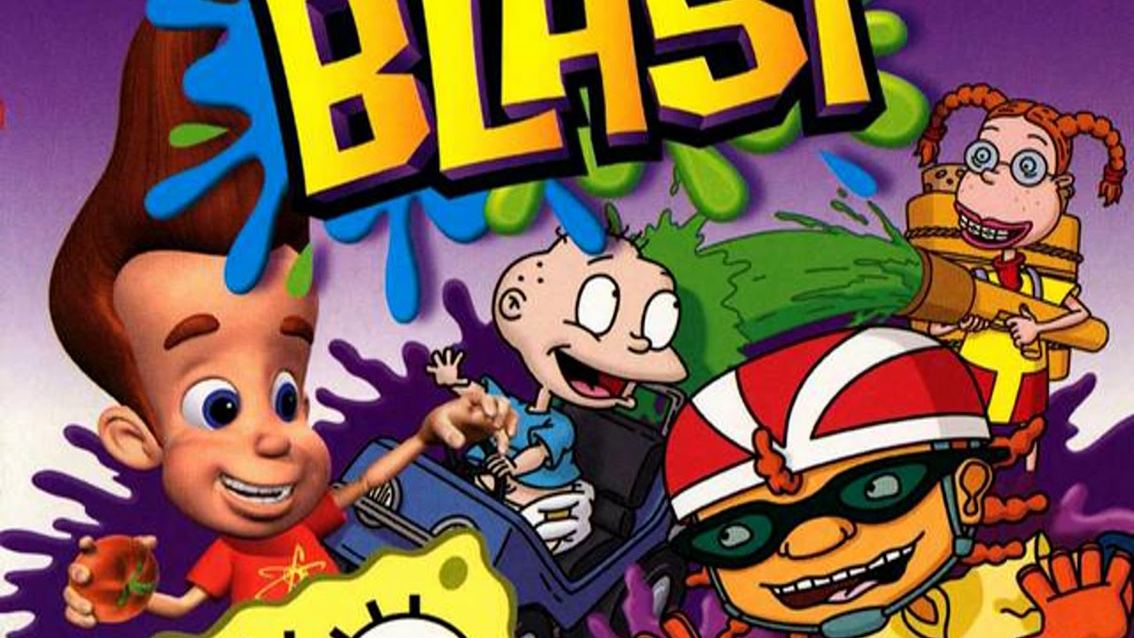 Nickelodeon Party Blast Soundtrack - RR1 #1