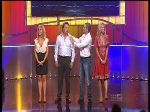 Craig Lowndes on Celebrity Singing Bee