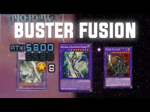 [Yu-Gi-Oh! Duel Links] Buster Blader Fusion w/ Red-Eyes | King of Games
