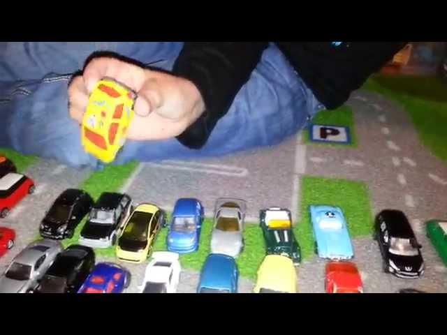 ma collection de voitures miniatures