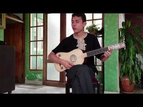 Cumbées de Santiago de Murcia para Guitarra Barroca por Damián Guardia