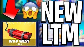 "NEW LTM In Fortnite - NEW ""Wild West"" LTM In Fortnite Battle Royale! (Fortnite New LTM)"