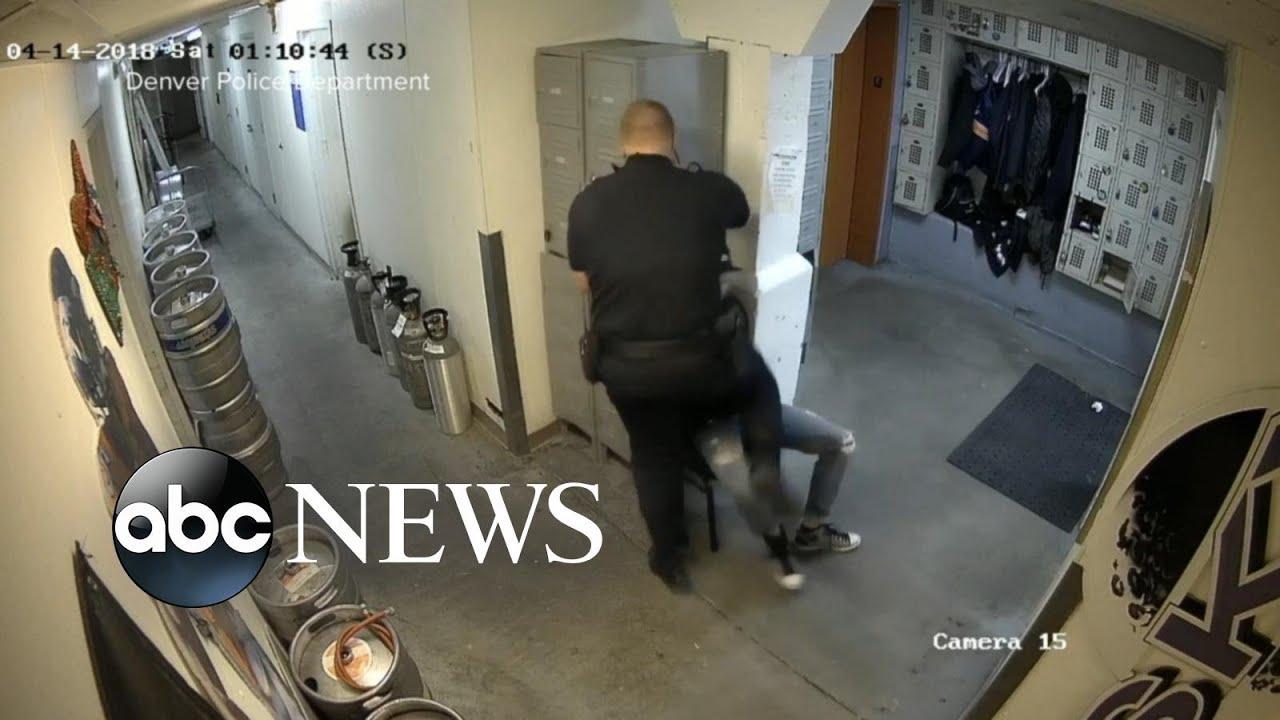 Download A Denver police officer under investigation after incident with arrested suspect