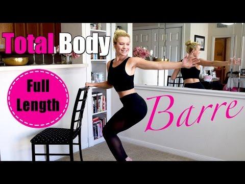 Full Length: Total Body BARRE Class #2