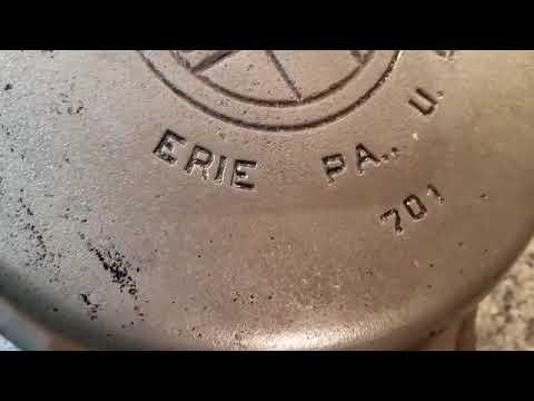 Restoring Rare Griswold Cast Iron Skillet #7 - Tricks, Tips, & Other Useful Information!