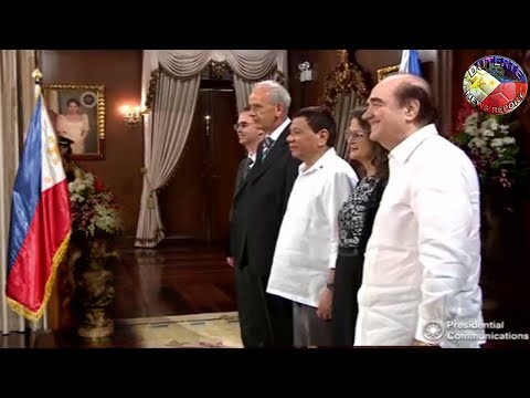 DUTERTE LATEST NEWS JANUARY 18, 2018 | DUTERTE RECIEVES THREE AMBASSADORS AT THE MALACAÑAN PALACE !