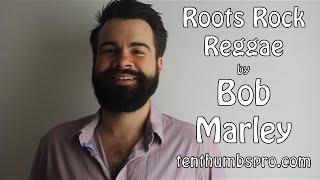 Roots Rock Reggae - Bob Marley - Easy Ukulele Tutorial Reggae Song Tutorial