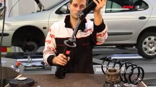 RENAULT Megane I, Megane I Grandtour, Renault Scenic I - FRONT - Передние амортизаторы KYB установка