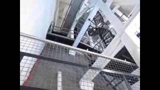 Climbing the dome of St. Paul's Cathedral in London, England, to the Top (No audio)
