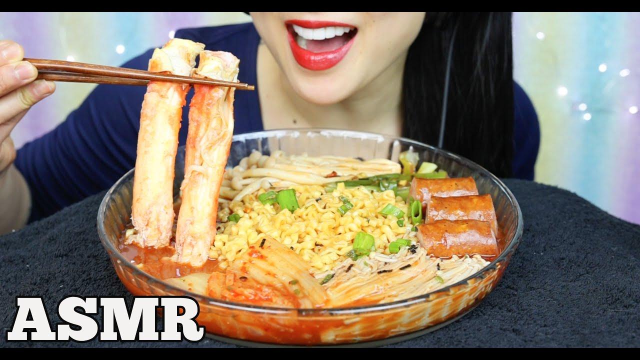 Asmr King Crab Spicy Samyang Noodles Stew Type Eating Sounds No Talking Sas Asmr Youtube Created 4 years ago 8,770,000 2,138,856,114 1,191 canadian. asmr king crab spicy samyang noodles stew type eating sounds no talking sas asmr