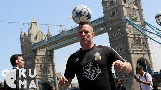 Freestyle Football Tricks in London feat. Guinness World Record Holder Dan Magness