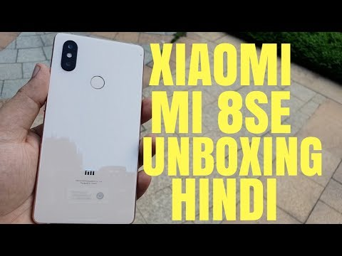 MI 8SE Hands-on Unboxing Review ! Hindi India