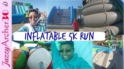 When I survived the Insane Inflatable 5K Run at Jacksonville,FL