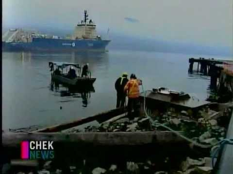 NEPTUNE Canada cable lay --CHEK news