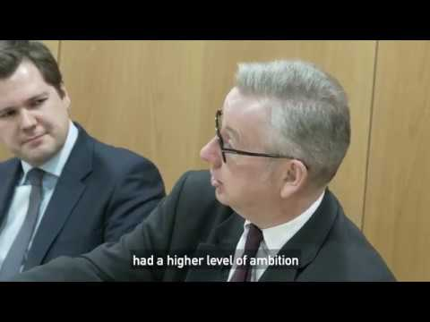 Environment Secretary Michael Gove's views on Citizens' Asse