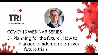 Planning for the future  dealing with pandemic risks to studies